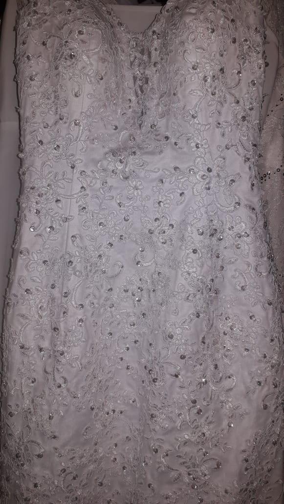 Wedding dress Sequence bodice