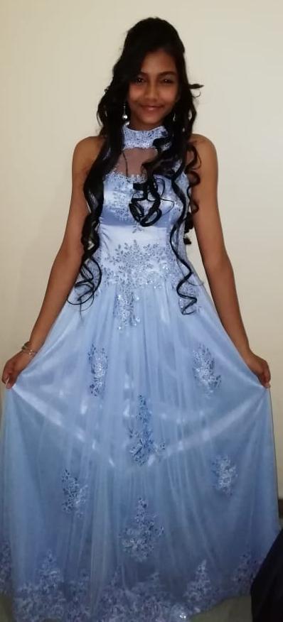 Light Blue Matric Farewell Dress