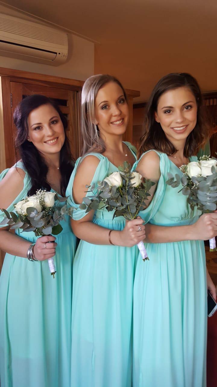 Bridesmaid Light Blue Dresses