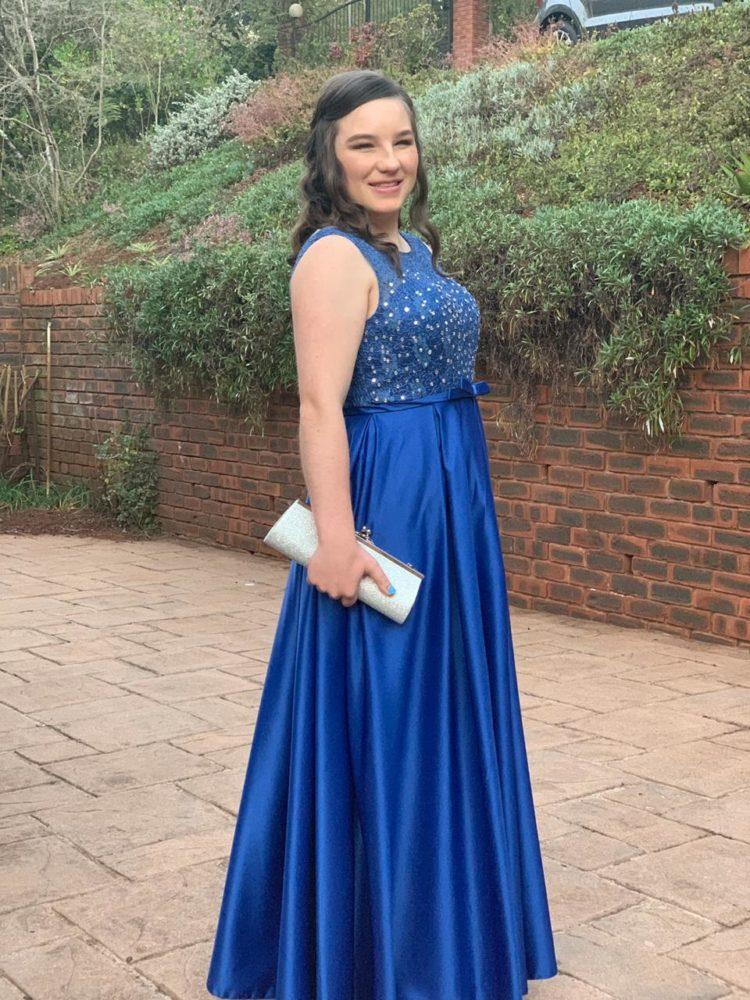 Matric Farewell Dress Royal Blue