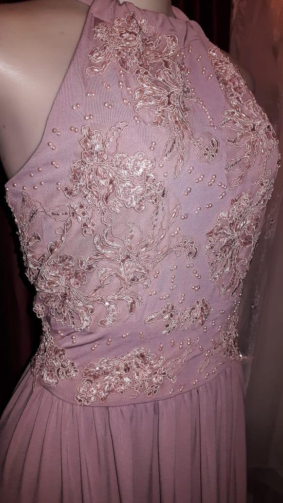 Pink Evening wear dress